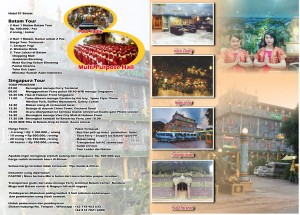 PROMO TOUR BATAM-SINGAPORE
